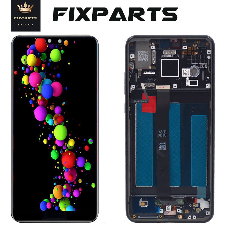 Tested Well Huawei P20 LCD Display EML-AL00 Touch Screen Digitizer Assembly With Frame Replacement 5.8 P 20 LCD EML-AL00 LCDTested Well Huawei P20 LCD Display EML-AL00 Touch Screen Digitizer Assembly With Frame Replacement 5.8 P 20 LCD EML-AL00 LCD