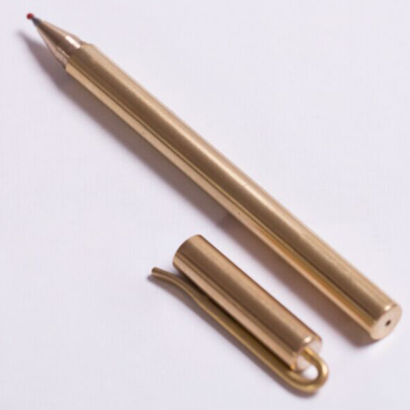 Hand Made New Style Self Defense Personal Safety Tactical Pen With Writing Function Brass Pen Self-help Broken Windows