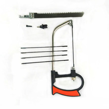 цена на Multi-purpose mini hacksaw model woodworking line saw manual devil saw can be replaced with multi-type saw blade
