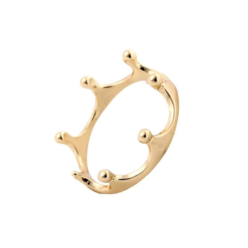Shuangshuo 2017 New Fashion Crown Ring For Women In Gold Wedding Gifts  JZ081