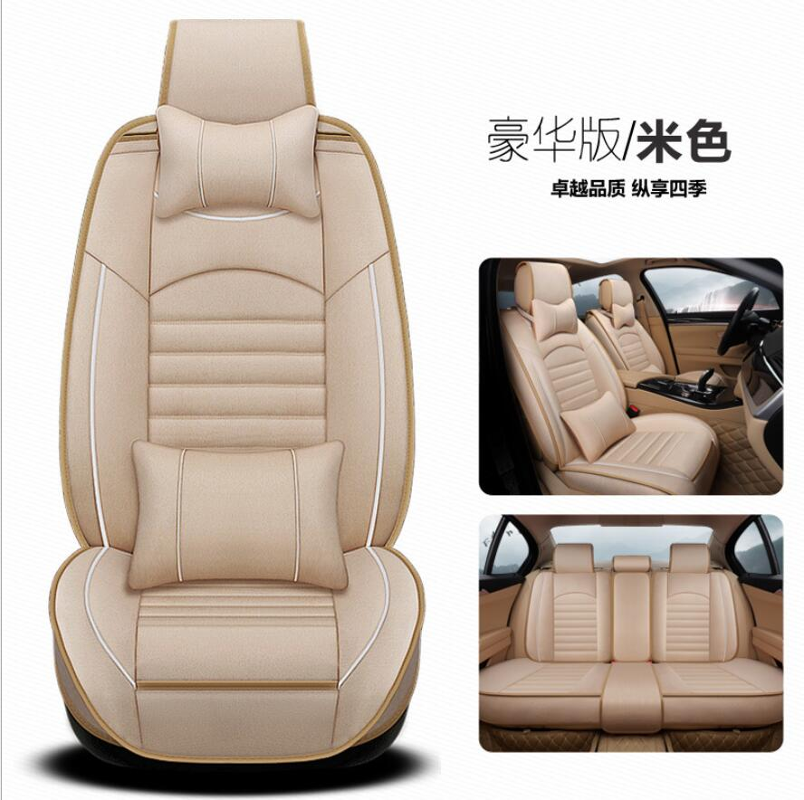 Car Seat Cover Flax universal seat cushion Car Styling For Mitsubishi Pajero Sport OUTLANDER EX Lancer Galant EVO FORTIS stylingCar Seat Cover Flax universal seat cushion Car Styling For Mitsubishi Pajero Sport OUTLANDER EX Lancer Galant EVO FORTIS styling