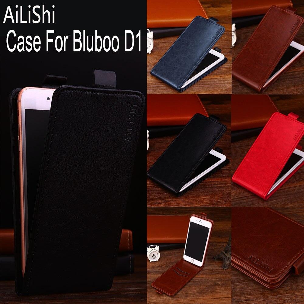 ¡Directo de fábrica AiLiShi! ¡Funda superior para Bluboo D1, Funda de cuero con tapa hacia arriba y hacia abajo, exclusiva 100% bolsa de teléfono especial + seguimiento!