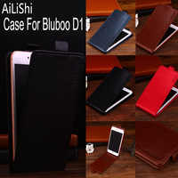 AiLiShi Factory Direct! TOP Case For Bluboo D1 Leather Case Up And Down Flip Exclusive 100% Special Phone Bag + Tracking !