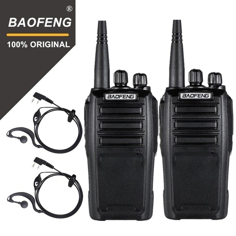 2 pcs Baofeng UV-6 Équipement de Gardien de Sécurité à Deux Voies Radio Cryptée De Poche Talkie Walkie Ham Radio HF Émetteur-Récepteur