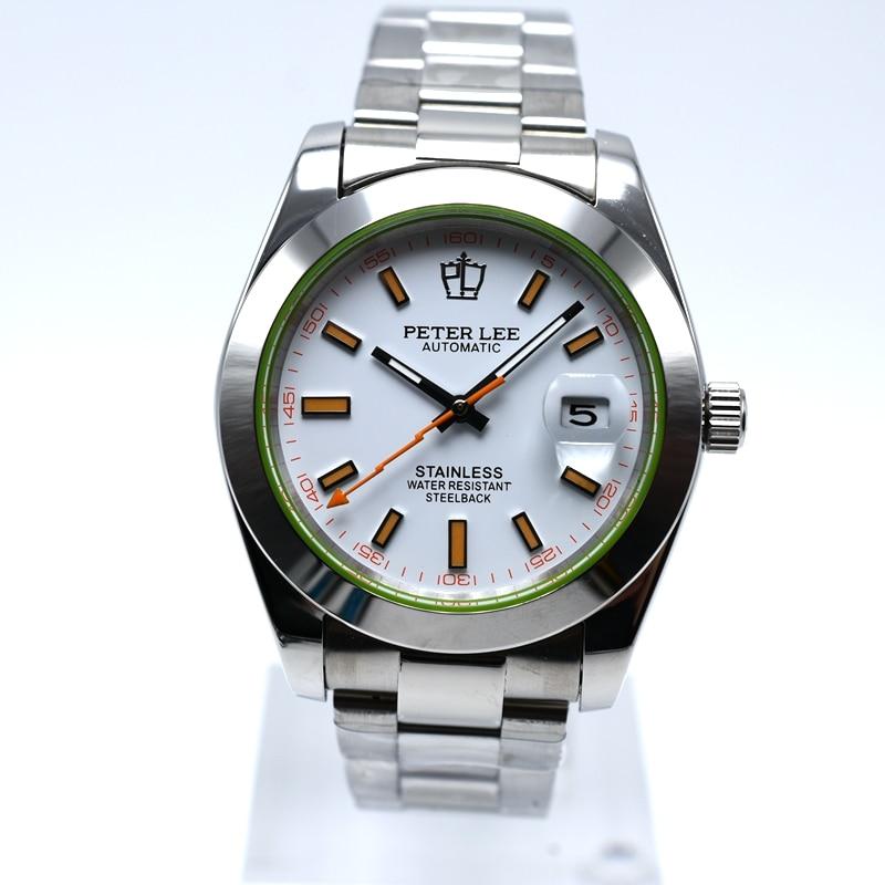 HTB1Nm1IhL5TBuNjSspcq6znGFXam PETER LEE Automatic Mechanical Mens Watches Top Brand Luxury Male Clocks Full Steel Watch Classic Fashion Men Watch reloj hombre