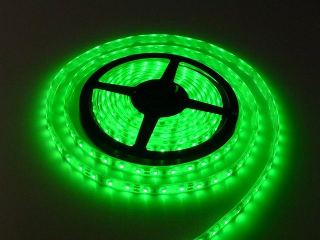 Green Led Light Strips Custom LED Light Strip Lamp Green Waterproof Strip Indoor Outdoor LED Strip