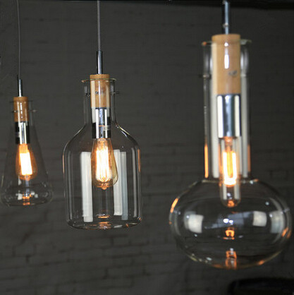 Post Modern Pendant Lights Glass Lampshade Nordic Droplight Hanglamp Fixture For Home Lightings Cafe Lampadari Lustre De Cristal