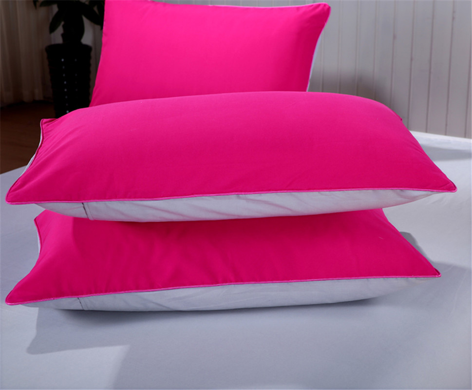 Fuchsia Grey AB Side Bedding Sets bed linens 4pcs set duvet cover set bed set kids Adult bedding bedclothes Women Girl Bedcover in Bedding Sets from Home Garden