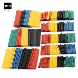 328 piezas 8 tamaños Multi Color poliolefina 2:1 libre de halógenos termorretráctil tubo surtido manguito de tubos
