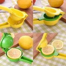 Alta calidad 2 en 1 mejor mano de aluminio lemon lemon orange exprimidor exprimidor prensa de frutas o vegetales de cocina herramientas