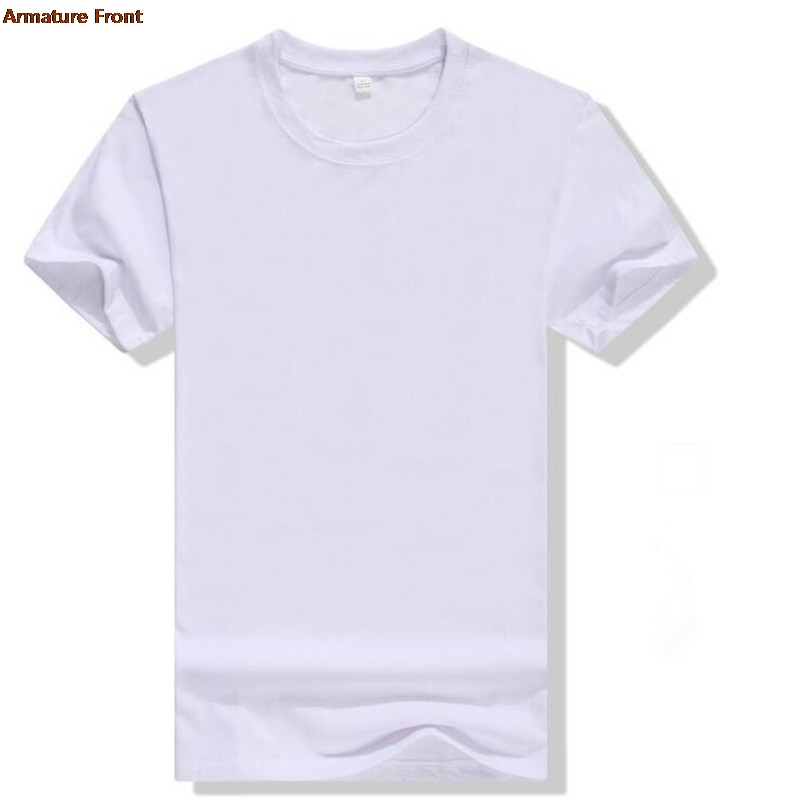 Simple White Solid Men Tees Cotton Summer 2019 Tops Harajuku   t  -  shirt   Camiseta Masculina Tshirt Men   Shirt   Streetwear   T     Shirts
