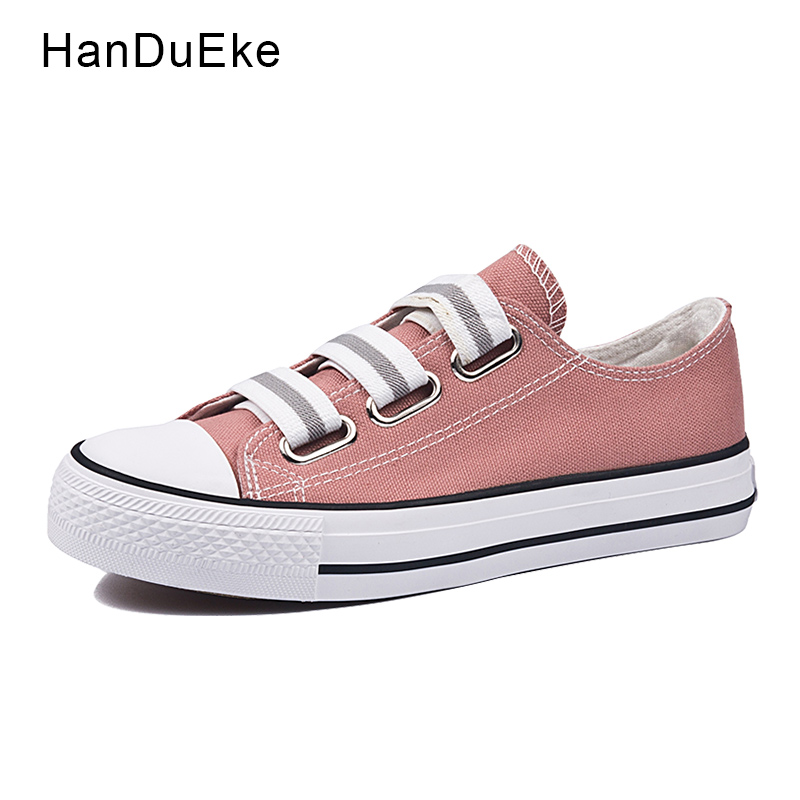 Classic Canvas Shoes Women Pink Female Flats 2018 Spring New Casual Shallow Sneaker Round Toe Slip on Mujer Zapatos Size 40 cresfimix zapatos women cute flat shoes lady spring and summer pu leather flats female casual soft comfortable slip on shoes