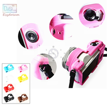 Soft Frame Rubber Silicon Case Behuizing Cover Protector voor Sony A5000 A5100 ILCE5000 ILCE 5100 Camera