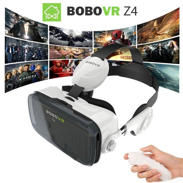 2016 Google cardboard <font><b>VR</b></font> BOX 2 XiaoZhai bobo <font><b>vr</b></font> z4 <font><b>Virtual</b></font> <font><b>Reality</b></font> 3D Glasses <font><b>VR</b></font> <font><b>Headset</b></font> earphone <font><b>movie</b></font> + Bluetooth Controller