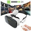 2016 google caixa de papelão vr 2 xiaozhai bobo vr z4 VR Realidade Virtual Óculos 3D filme + Bluetooth fone de Ouvido fone de ouvido controlador