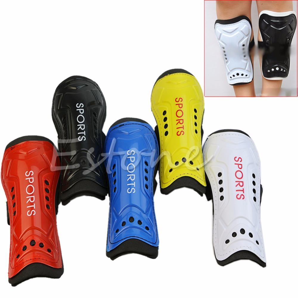 New 1 Pair Utility Competition Pro Soccer Shin Guard Pads Shinguard Protector Outdoor Sports Cycling Professional Leg Safety