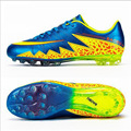 Baobu Soccer Shoes Children Sports Training Football Boots Long Spikes Turf TF Hard Court Sneakers for Men Kids Football Cleats