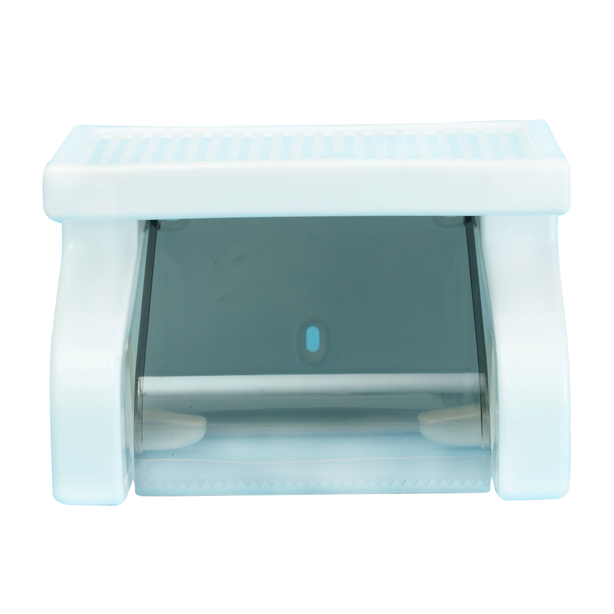 Waterproof Toilet Paper Holder Tissue Roll Stand Box with Shelf Rack ...