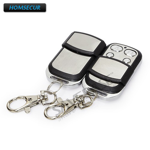 HOMSECUR A4 2 2Pcs Wireless Remote Control for Our 433Mhz GSM font b Alarm b font