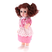 Intelligent Voice Dancing Robot 12inch Realistic Modern Girl Doll Lovely Princess Model With Mini Dolls Furniture Sets