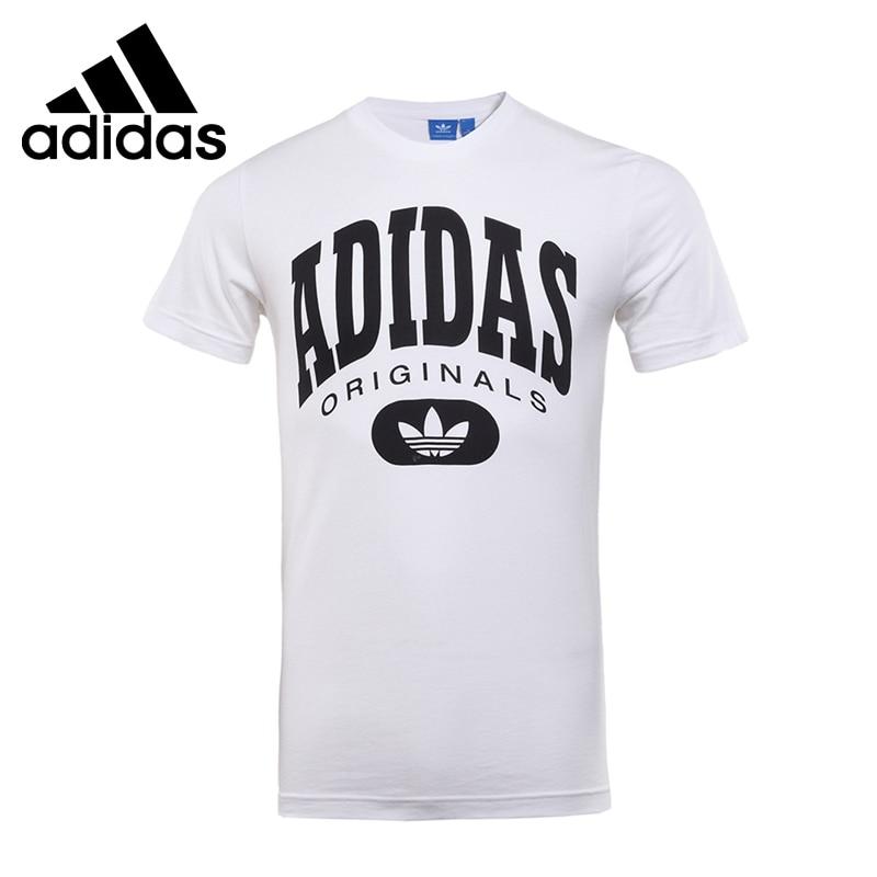 ФОТО Original New Arrival 2017 Adidas Originals ARCHIVE LOGO TE Men's T-shirts short sleeve Sportswear