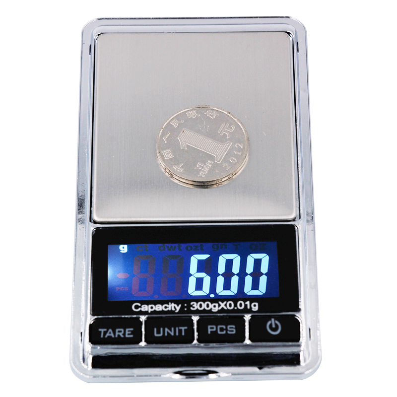 by DHL Fedex 300g x 0.01g Mini Electronic Digital Jewelry Balance Pocket scales with LCD Display 20% off