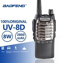 Buy Baofeng UV-8d Walkie Talkie 10 KM Long Range 8W Free Headset Powerful Portable Two Way CB Radio UV 8D Professinal Woki Toki UV8D directly from merchant!