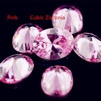 Wholesale AAA Grade CZ Cubic Zirconia Pink 3 5 4 8 Oval Cubiz Zircon DIY Jewelry