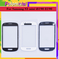 galaxy s3 mini 10pcs/lot S3Mini TouchScreen For Samsung Galaxy S3 mini i8190 8190 Touch Screen Front Panel Glass Lens Outer NO LCD Display (1)