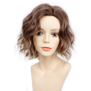Image 4 - Amir Short Wavy Bob Wig Synthetic Hair Wigs For Women Cosplay Wigs Blown and Blonde wig