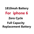 5Pcs/ Lot Brand Original Replacement Li-ion Battery For iphone 6 1810mAh Lithium polymer