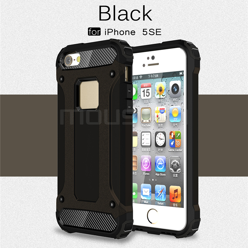 iPhone 5s Case Silicone Luxury Shockproof Case Cover 1