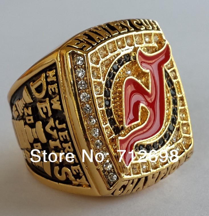 2003 NHL New Jersey Devils Hockey ring Stanley Cup championship ring  Replica size 11 US Brodeur fans collection in stock 6PCS 48445c401