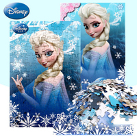 Disney princess frozen toys for children 100 puzzle pieces girls toys 5 style toy children puzzle game kids birthday gift