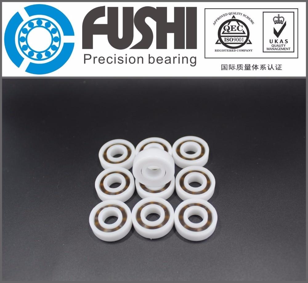 6000 POM (10PCS)  Plastic bearings 10x26x8mm  Glass Balls 10mm/26mm/8mm 50pcs pom plastic bearings 608 with glass balls 8x22x7 mm nylon bearing