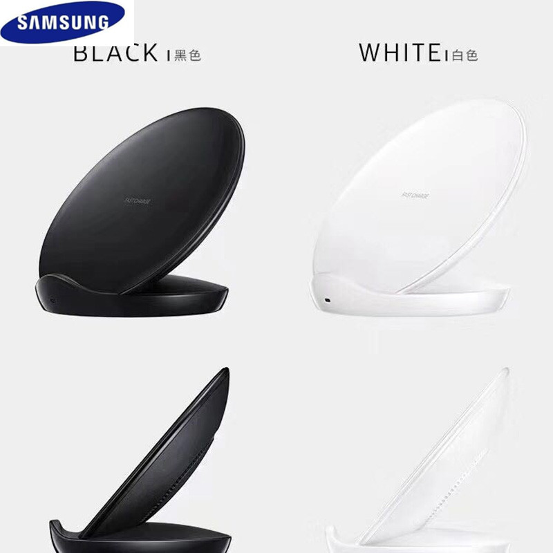 Image 3 - original samsung galaxy s8 s9 s10 plus note 8 9 10 wireless fast charger adaptor stand pad for iphone 8 plus x xs max mi 9 9s-in Mobile Phone Chargers from Cellphones & Telecommunications
