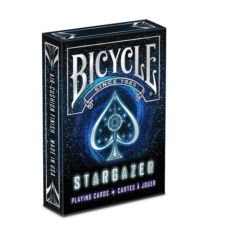 Bicicleta Stargazer Deck Dimensiune de poker Standard Playing Cards Carduri Magic Magic Props Close Up Magic Tricks for Professional Magician