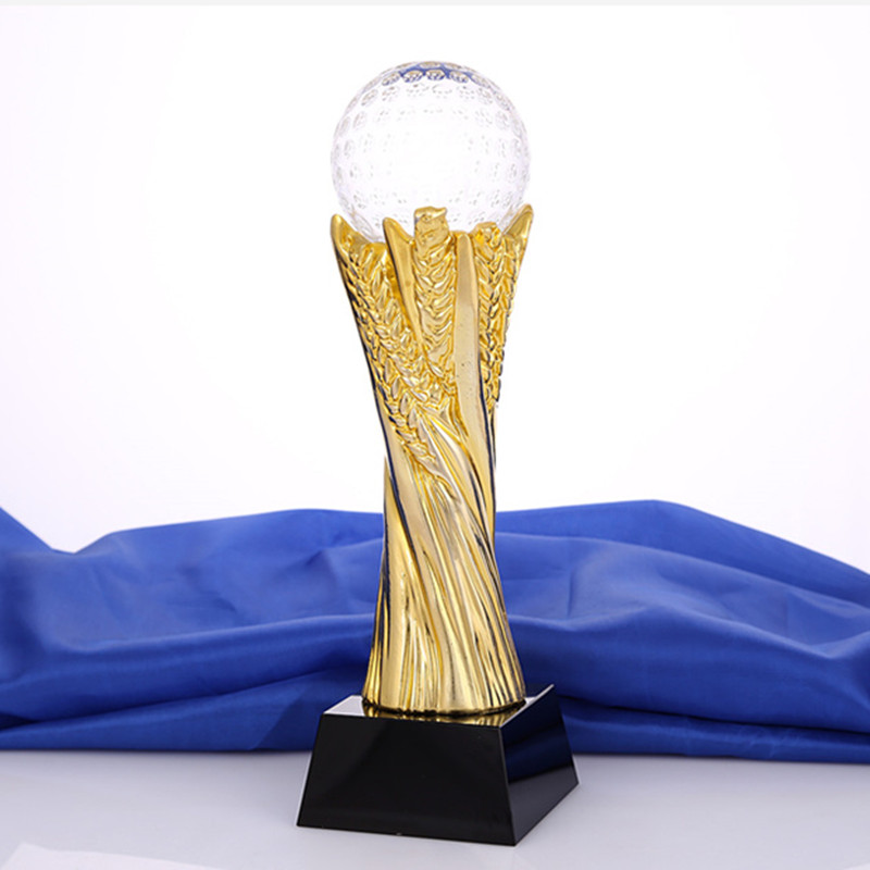 Forme de boule cristal Miniature verre artisanat pour basket-Ball Football balle jeux Champions récompenses récompenses décor à la maison