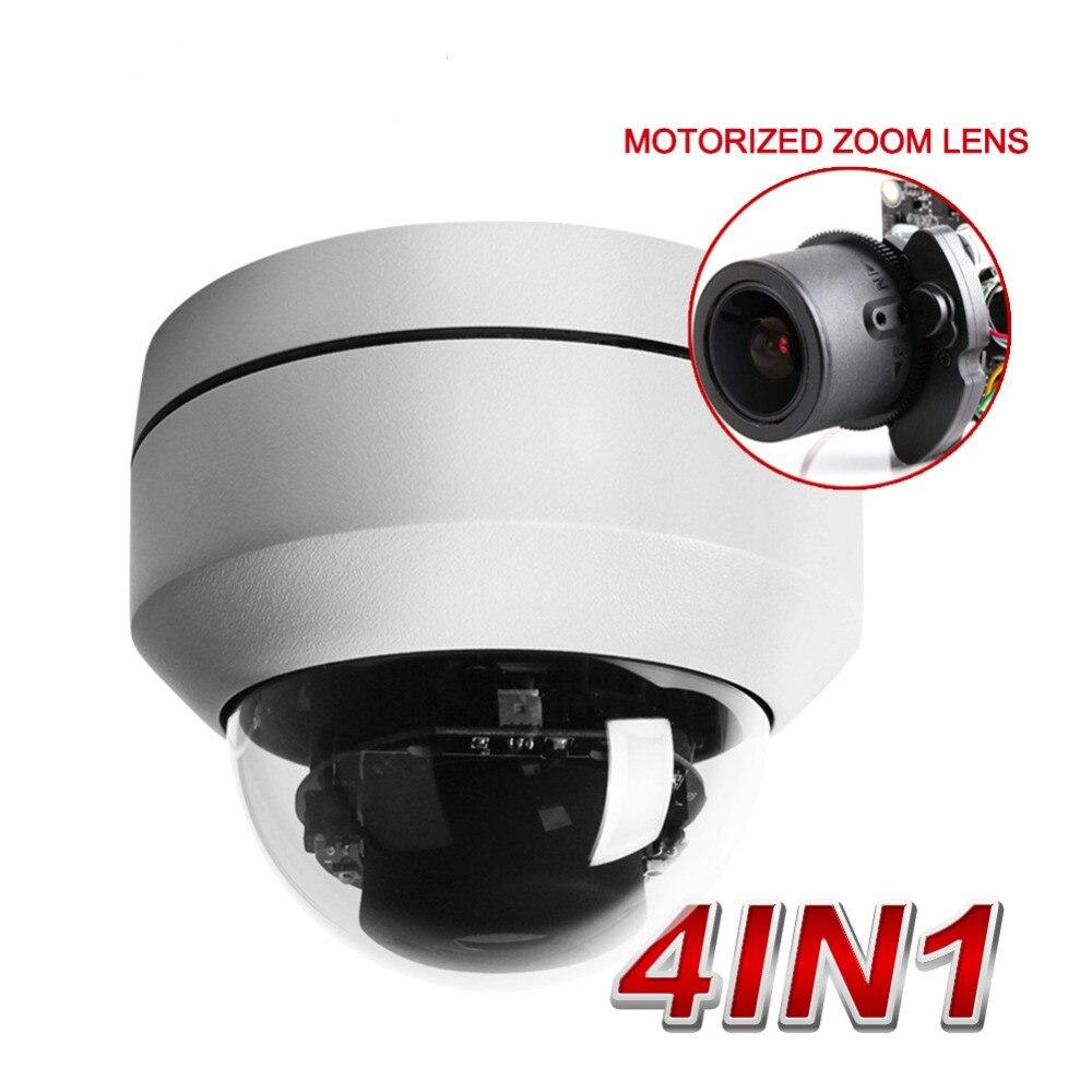 5MP CCTV security weatherproof mini PTZ 5X Zoom 2.5 Inch HD Analog Mini Dome cctv camera high Speed 4 in 1 one Dome Camera 1 3 inch outdoor 4 1080p sony fcb mini speed dome hd sdi ptz cctv camera