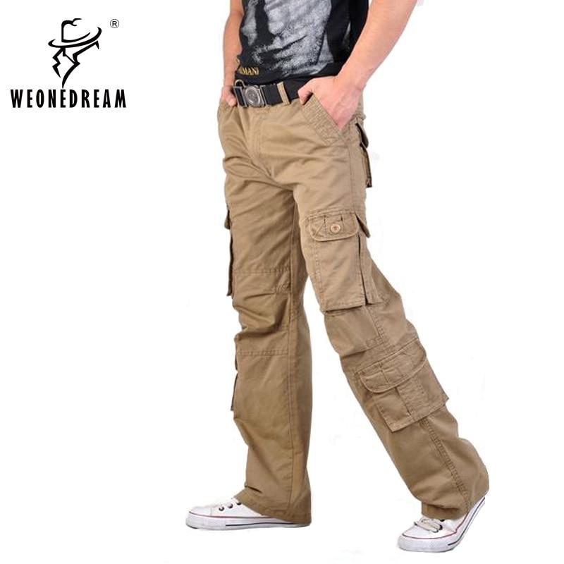 Detalle Comentarios Preguntas sobre Pantalones cargo hombres 2018 casual  tatical multi bolsillo Militar hombres long Pantalones hombre moda miedo de  DIOS ... 6d722f7bd14