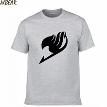 New-arriving Japanese Anime Fairy Tail Cotton T Shirts for Fans Matching Couples Casual O Neck Short Sleeve Plus Size S-3XL