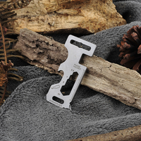 Autumn Outdoors Gadget Portable EDC Portable Mini Utility Pocket Multi Tool Keychain Outdoor Camping Key Ring