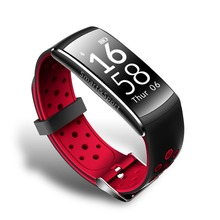 Q8 умный Браслет IP68 Водонепроницаемый фитнес трекер Bluetooth браслет Спорт монитор сердечного ритма для iOS и Android