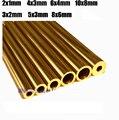 Ferramenta de corte do tubo de bronze rebite rebite mosaico 2/3/4/5/6mm tubulação de Bronze H62 100 MM comprimento 1 peça preço