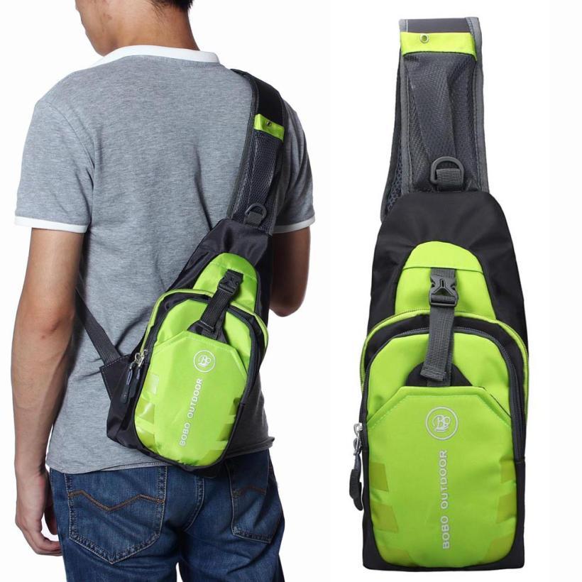 Hot Top moda 6 colores hombres bandolera bolso de hombro de poliéster Haversack Casual bolso moda golpe Color bolso de hombro