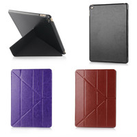 Magic Stand Smart Case For IPad Air 2 Cover Stand Tablet Designer Ultra Thin Pu Leather