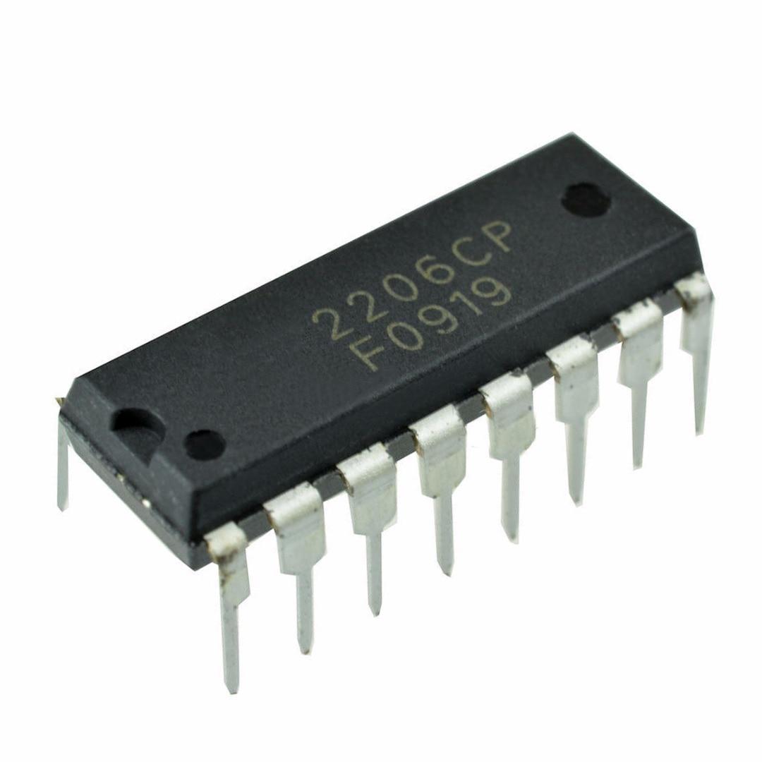 1 Stück Schwarz Xr-2206 Xr2206cp Xr2206 Monolithischen Funktion Generator Ic 16 Pins Dip Mayitr Elektronische Instrumente