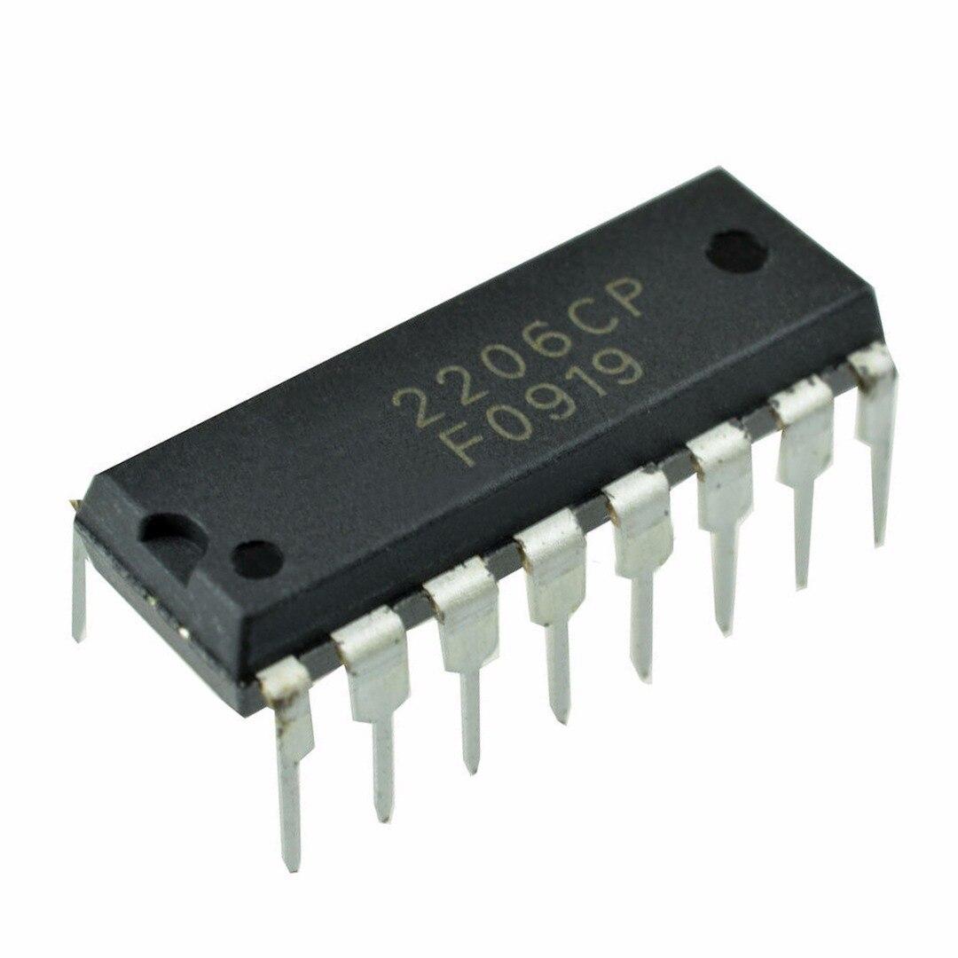 1pc Black XR-2206 XR2206CP XR2206 Monolithic Function Generator IC 16 Pins DIP Mayitr El ...