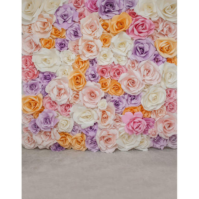 Fotografia Artificial Flowers Photography Backdrops Roses Wallpaper Backgrounds For Photo Studio Background S 2563
