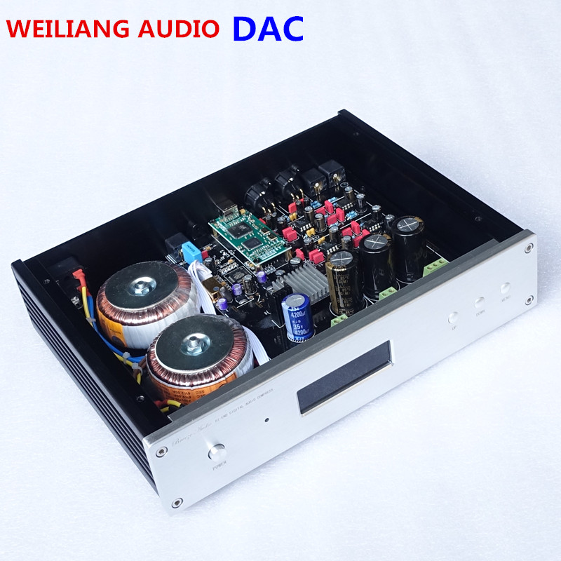 ES9038 ES9028PRO ES9018 DAC audio décodeur Amanero USB interface Soutien DSD coaxial optique avec Télécommande Bouclier USB câble
